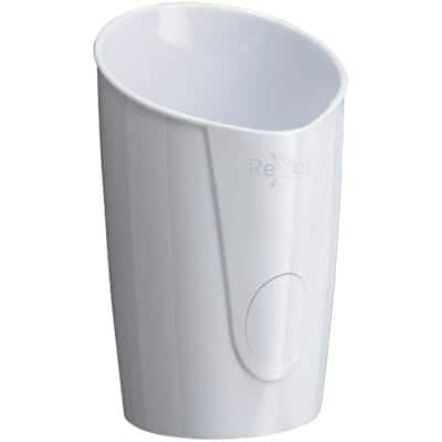Rexel Pencil Pot Choices Plastic White 10 x 9 x 12.5 cm
