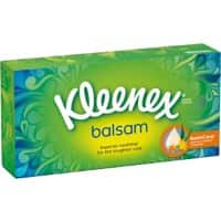 Kleenex Facial Tissue Box Balsam Regular 64 Sheets