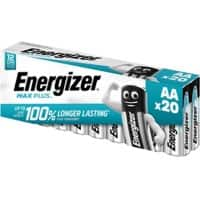 Energizer Batteries Max Plus AA 20 Pieces
