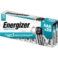 Energizer Battery Max Plus AAA 20 Pieces