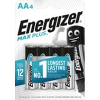 Energizer Battery Max Plus AA 4 Pieces