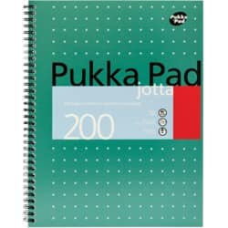 Pukka Pads A4 Notepad 80gsm Pack of 3
