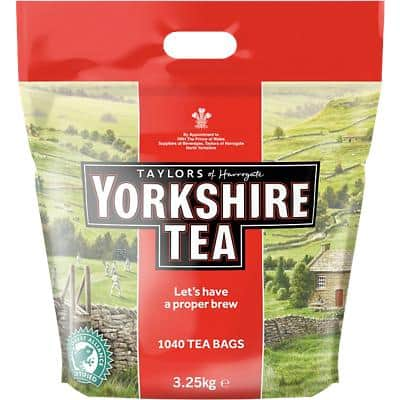 Yorkshire Tea Bags Pack of 1040