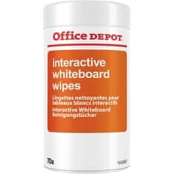 Office Depot Interactive Whiteboard Wipes 70 Sheets