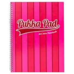 Pukka Pad Jotta Pad Vogue A4 Ruled 8 mm Lines Pink 3 pieces