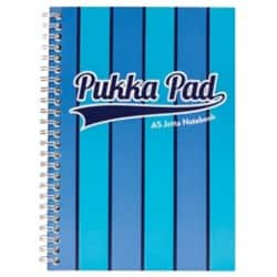Pukka Pad Jotta Pad Vogue A5 Ruled 8 mm Lines Blue 3 pieces