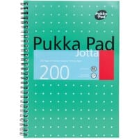 Pukka Pad Jotta Pad Metallic B5 Ruled 8 mm Lines Green 3 pieces of 100 sheets