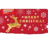 One4All Merry Christmas Gift Card €100 Red