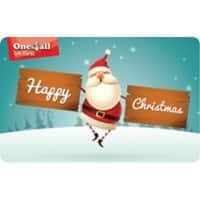 One4All Happy Christmas Santa Gift Card €100