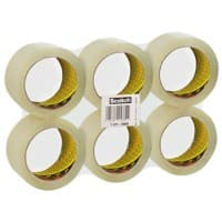 Scotch Packaging Tape 371 50mm x 66m Transparent