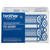 Brother Ribbon PC-204RF Black 4 pieces
