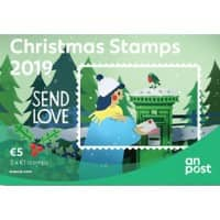An Post 5 Euro Christmas Stamp 20 Pieces