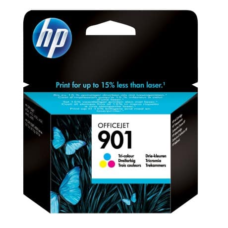 HP 901 Original Ink Cartridge CC656AE 3 Colours