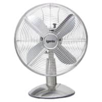 iGENIX Desk Fan DF1250 Chrome