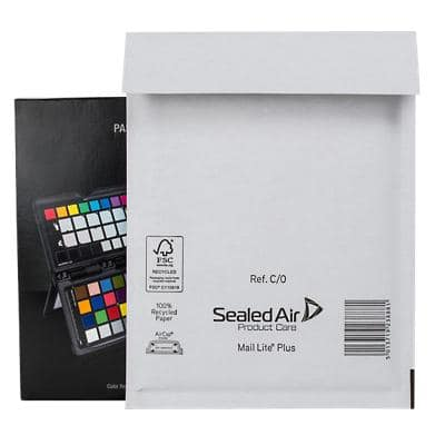 Sealed Air Mailing Bags C/0 90gsm White Plain Peel and Seal 150 x 210 mm 100 Pieces