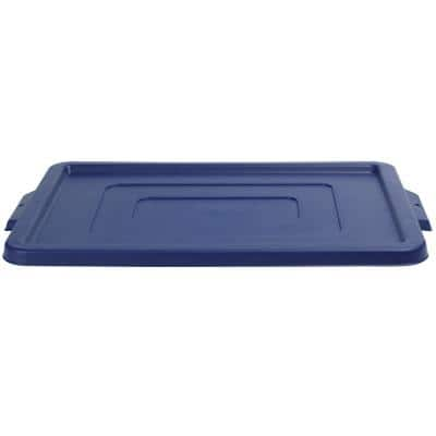 Strata Storage Bin Lids Jumbo Blue 40.5 x 56 x 2.5 cm 3 Pieces