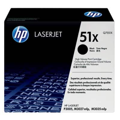 HP 51X Original Toner Cartridge Q7551X Black