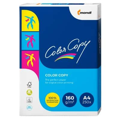Mondi Color Copy A4 160gsm white paper (250 sheets)