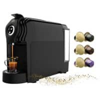 L'OR Lucente Pro Coffee Machine Black + 100 Capsules for Free