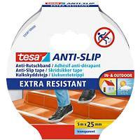 tesa Anti Slip Tape Anti Slip 25 mm x 5 m Transparent