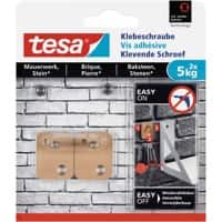 tesa Adhesive Screw Brown 5kg Pack of 2