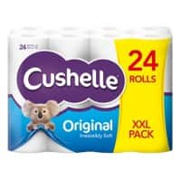 Cushelle Toilet Rolls Original 2 Ply 24 Rolls of 180 Sheets