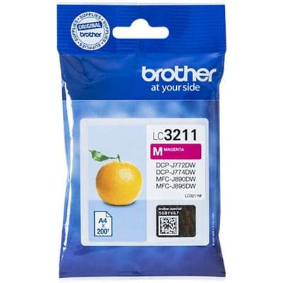 Brother Original Ink Cartridge LC3211M Magenta
