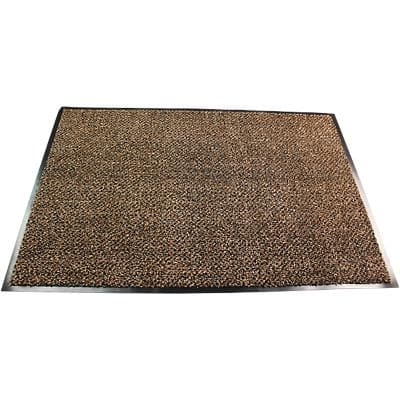 Office Depot Indoor Doormat Premium Brown 900 x 600 x 600 mm