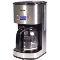 igenix Filter Coffee Maker Digital Stainless Steel IG8250 800W Silver