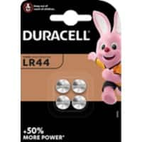 Duracell Batteries Speciality LR44 4 Pieces