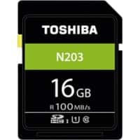 Toshiba SDHC Flash Memory Card N203 16 GB