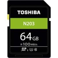 Toshiba SDXC Flash Memory Card N203 64 GB