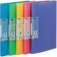Pentel Display Book Vivid DCF343/MIX A4 5 Pieces