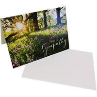 Greeting Card With Sympathy 6 Pieces