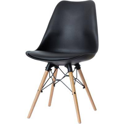 Paperflow Reception Chairs Dogewood Black 2 Pieces