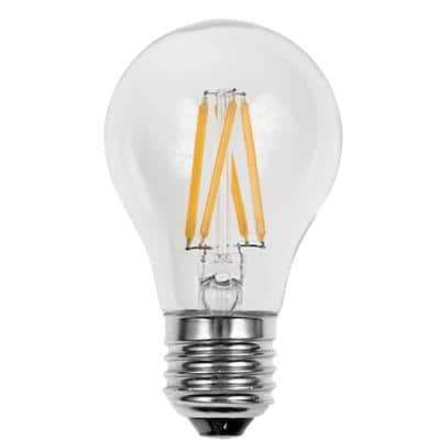 LyvEco Light Bulb Clear E27 8 W Warm White