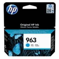 HP 963 Original Ink Cartridge 3JA23AE Cyan