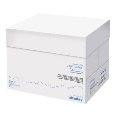 Niceday Copy Paper A4 80gsm White 5 Packs of 500 Sheets