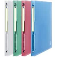 ELBA 2nd Life Ring Binder 2nd Life 20 mm Frosted Polypropylene 4 ring Assorted 4 Pieces
