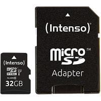 Intenso Micro SDHC Flash Memory Card UHS-I Premium 32 GB