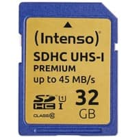 Intenso SDHC Flash Memory Card UHS-I Premium 32 GB
