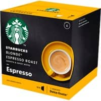 NESCAFÉ Dolce Gusto Starbucks Espresso Blonde Roast Coffee Capsules 12 Pieces