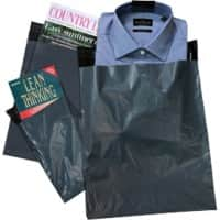 tenza Mailing Bags Dark Grey 40 x 52.5 cm 250 Pieces