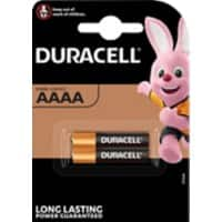 Duracell AAAA Batteries LR8D425 Ultra 1.5V Alkaline Pack of 2