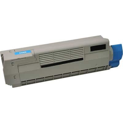 Compatible OKI Toner Cartridge 46507507 Cyan
