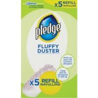 Pledge Fluffy Duster White 5 Pieces