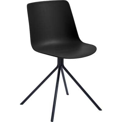 Paperflow Visitor Chair DN Black 2 Pieces