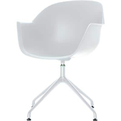 Paperflow Visitor Chair MOON White 2 Pieces