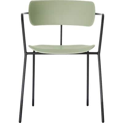 Paperflow Visitor Chair BISTRO Green 4 Pieces