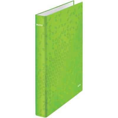 Leitz Ring Binder Laminated Board A4 + 4 ring 25 mm Lime Green